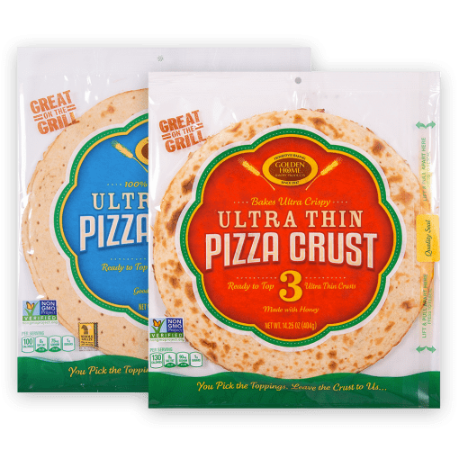 Ultra Thin Crust Pizza 12 inch Sampler