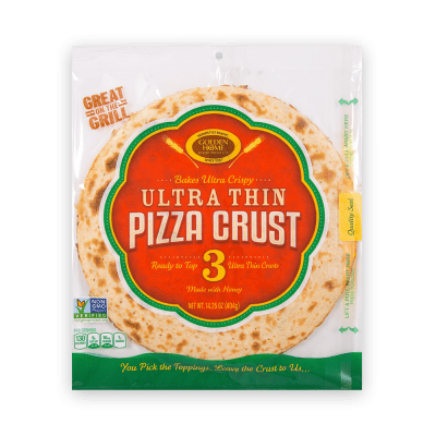 12 inch Ultra Thin Pizza Crust