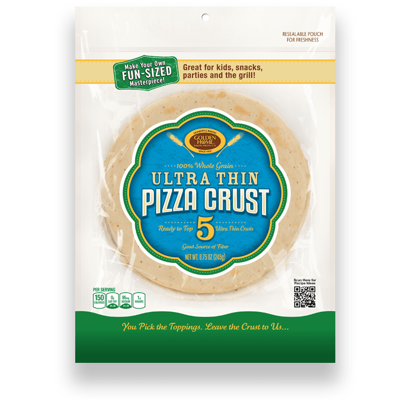 "7"" Ultra Thin & Ultra Crispy Pizza Crusts"