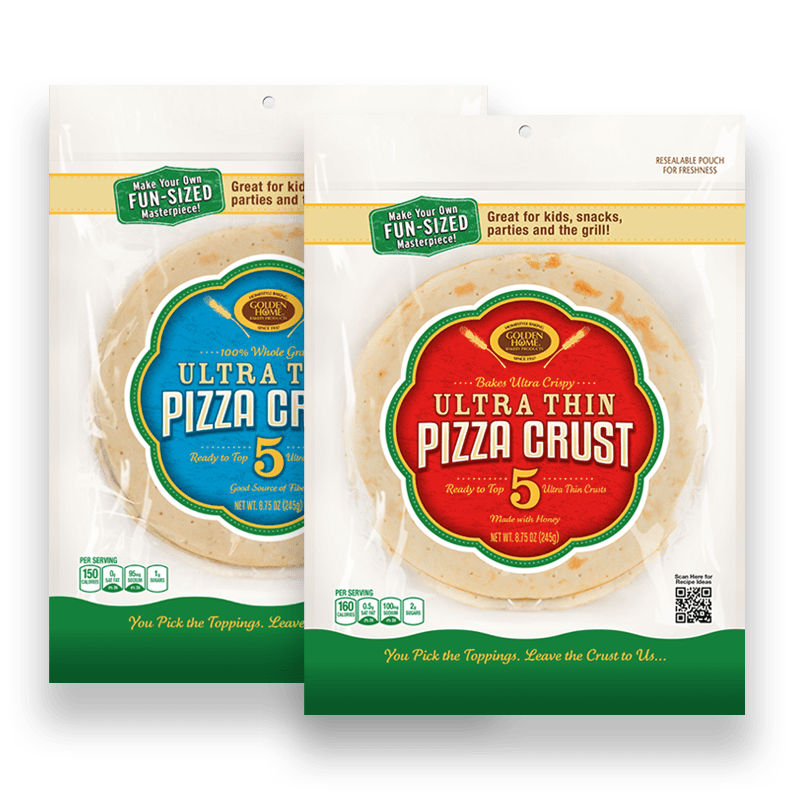 "7"" Pizza Crust Sampler"