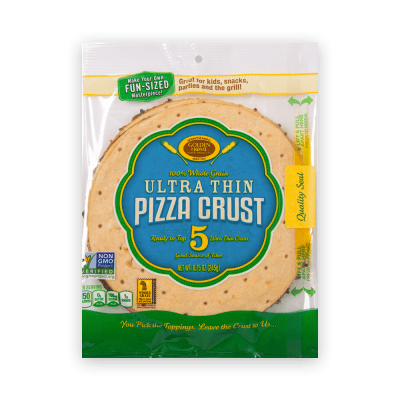 7 inch Whole Grain Ultra Thin pizza Crust