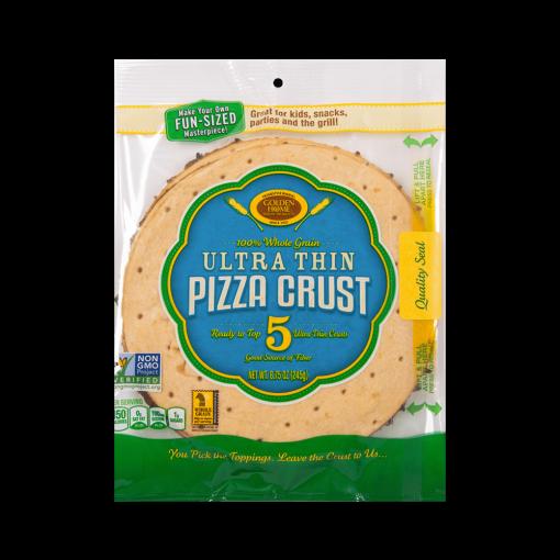 7 inch Whole Grain Ultra Thin pizza Crust